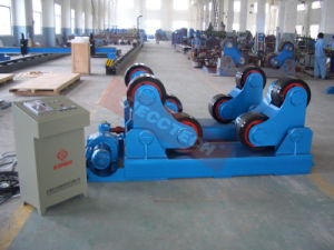 80ton Self Align Widen PU Rollers / 03years Warranty Welding Rotator pictures & photos