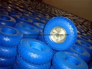 PU Foam Wheel 260X85 Tire and Rim pictures & photos