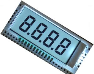 Monochrome 7 Segment LCD Display 3-Wire Serial Tn Positive pictures & photos