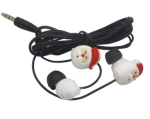 Best Selling Cute Design Wired Earbuds for Christmas Gift Lx-P23 pictures & photos