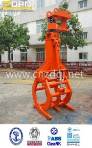Hydraulic Orange Peel Grapple for Excavator pictures & photos
