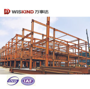 Industrial Price Curved Roof Steel Structure Shed with Sandwich Panel pictures & photos