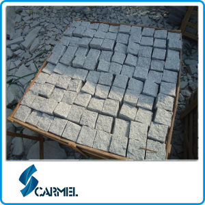 Grey Granite (G603) Cobble Stone/Paving Stone for Construction Project