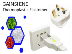 Gainshine 85 Degrees/ Flame Retardant TPE Material for Plug