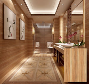 Interior Wooden Glazed Ceramic Wall Tile (DK6901) pictures & photos