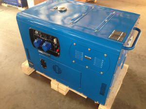 Air-Cooled 4 Stroke Kama Type Silent Diesel Generator pictures & photos