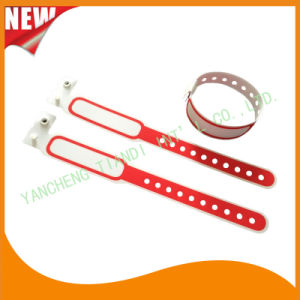 Hospital Plastic Write-on Infant ID Bracelet Wristbands Band (8020C12) pictures & photos