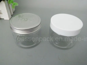 150ml Pet Plastic Jar with White Plastic Lid (PPC-PPJ-15) pictures & photos