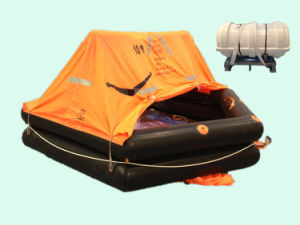 CCS & Ec Approved Marine Life Raft for Life Saving/Thrown Over Board Life Raft/Inflatable Life Raft pictures & photos