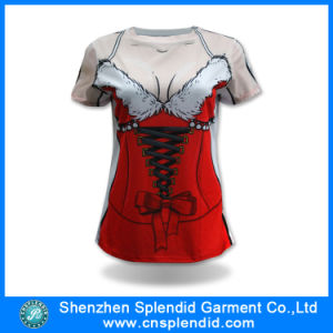 China Wholesale High Quality Printing Fashion Sexy Women T Shirt