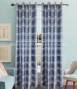 Jacquard Blackout Grommet Panel and Curtain (HR14WT185) pictures & photos