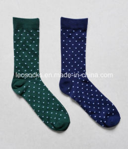 with Cotton Wave Point of Waist Socks pictures & photos