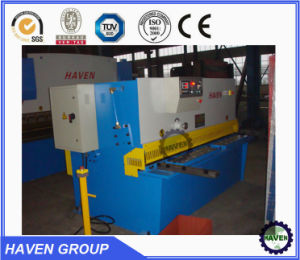 QC11Y-10X2000 Hydraulic Guillotine Shearing Machine, Steel Plate Cutting Machine pictures & photos