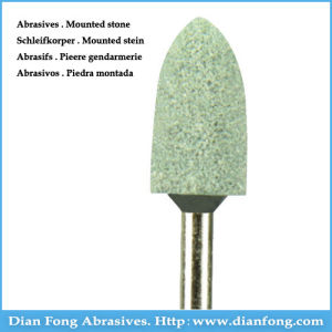 G-17 Silicone Carbide Maded Green Mounted Stone Internal Grinding Stones pictures & photos