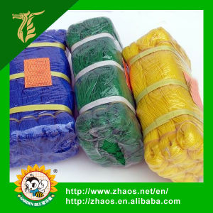 Packing Colorful Plastic Flat Net Safety Net for Construction pictures & photos