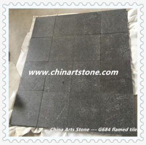 Polished and Flamed Nature Granite Tile for Floor pictures & photos