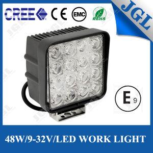 10-30V 16LEDs LED Fog Light for Jeep Boat Offroad
