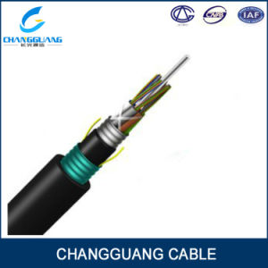 GYTA53 12 Core Arieal Fiber Optic Cable Armored Fiber Cable