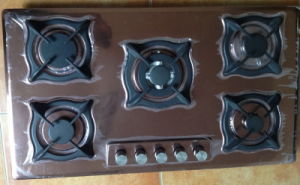 Five Burner Built-in Stove (SZ-JH5113CG) pictures & photos