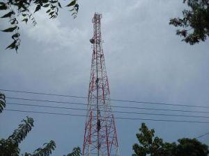 4 Legged Telecommunication Steel Tower to Sri Lanka for Dialog, Hutch, Suntel