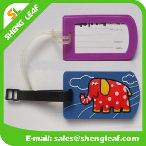 Various Design Soft Rubber Luggage Tag (SLF-LT072) pictures & photos
