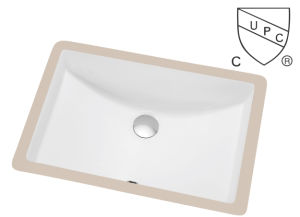 Cupc Approved Bathroom Ceramic Sink pictures & photos