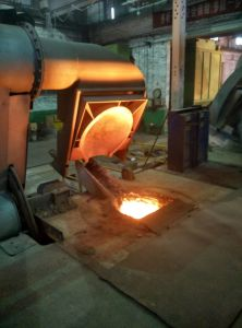 5000kgs Induction Melting Furnace for Casting Aluminum Copper Scrap Alloy