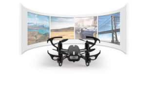 189908t-5.8g Fpv 720p Camera 2.4G 4CH 6 Axis Gyro Quadcopter Headless Mode with Light pictures & photos