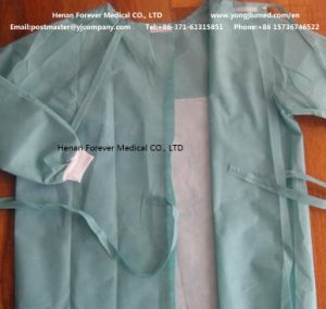 SMS Ce Certificated Disposable Nonowven Surgical Gown pictures & photos