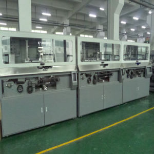 Automatic Three Color Cylindrical Screen Printer for Lubrication Container