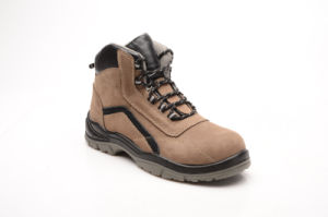 New Designed Nubuck Leather & PU Safety Shoes (NP2003) pictures & photos