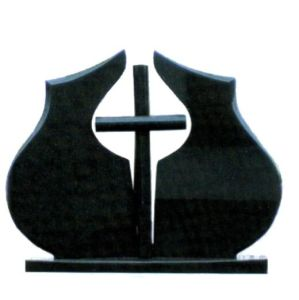 High Quality Chinese Black Granite Tombstone -QS pictures & photos