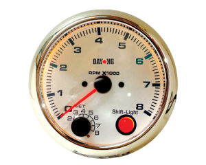 "3 3/4"" (95mm) Tachometer for Single Color LED Tachometer (8040SWC) pictures & photos"