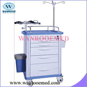 ABS Resuscitation Trolley for Hospital pictures & photos