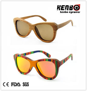 New Coming Fashion Wooden Sunglasses (Optical frame) CE. FDA. Kw021 pictures & photos