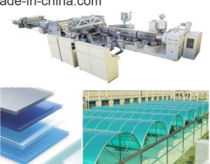 PC Sheet and Hollow Boards Production Line pictures & photos