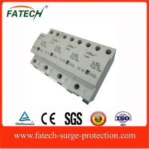 New Electronic Devices 50KA 3 Phase Lightning Arrester Surge Protection Device with Indicate Window pictures & photos