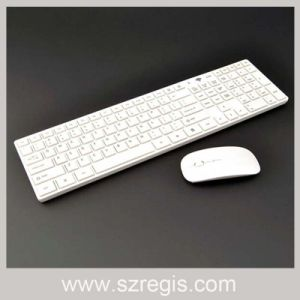 Multimedia Keys Multi-Language Layout Slim Wireless Laptop Mouse and Keyboard pictures & photos