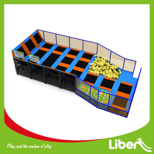 Foam Pit Free Jumping Indoor Trampoline Trampoline pictures & photos