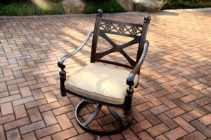 Comfort Aluminum Swivel Chair Furniture for Outdoor pictures & photos