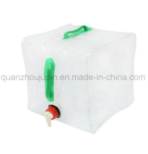 OEM PVC 20L Outdoor Camping Folding Water Bag with Faucet pictures & photos
