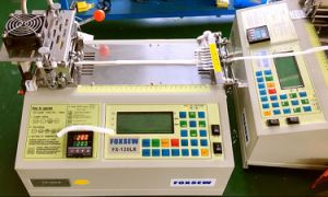 Automatic Polyester Tube Cutting Machine Hot and Cold Knife pictures & photos