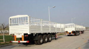 Hot Selling Cheap Price Stake Semi Trailers for Sale pictures & photos