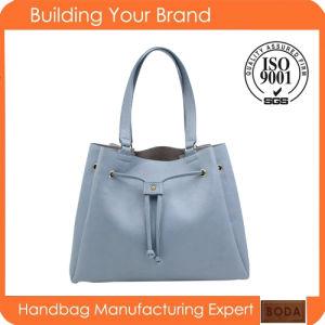 New Design Lady PU Drawstring Handbag pictures & photos