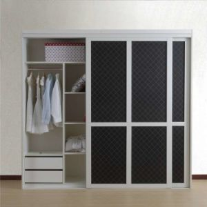 Modern Wooden Material Man Made Bedroom Wardrobe Design pictures & photos
