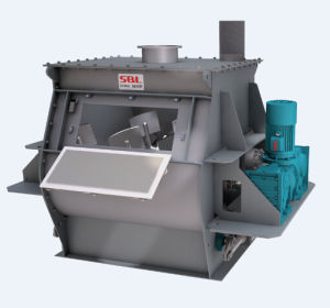 Top Quality Industrial Powder Paddle Mixer pictures & photos