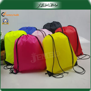 Promotional Polyester Travel Drawstring Bag pictures & photos