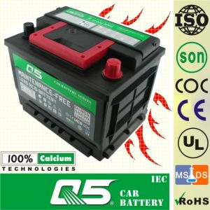 DIN55 MF, China OEM 12V 55ah Rocket Batteries Model pictures & photos