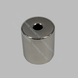 Customized Ring Shaped NdFeB N45 Neodymium Magnet pictures & photos