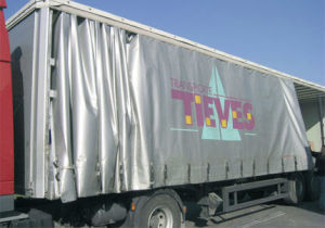 Anti-UV PVC Tarpaulin for Truck Cover Tb027 pictures & photos